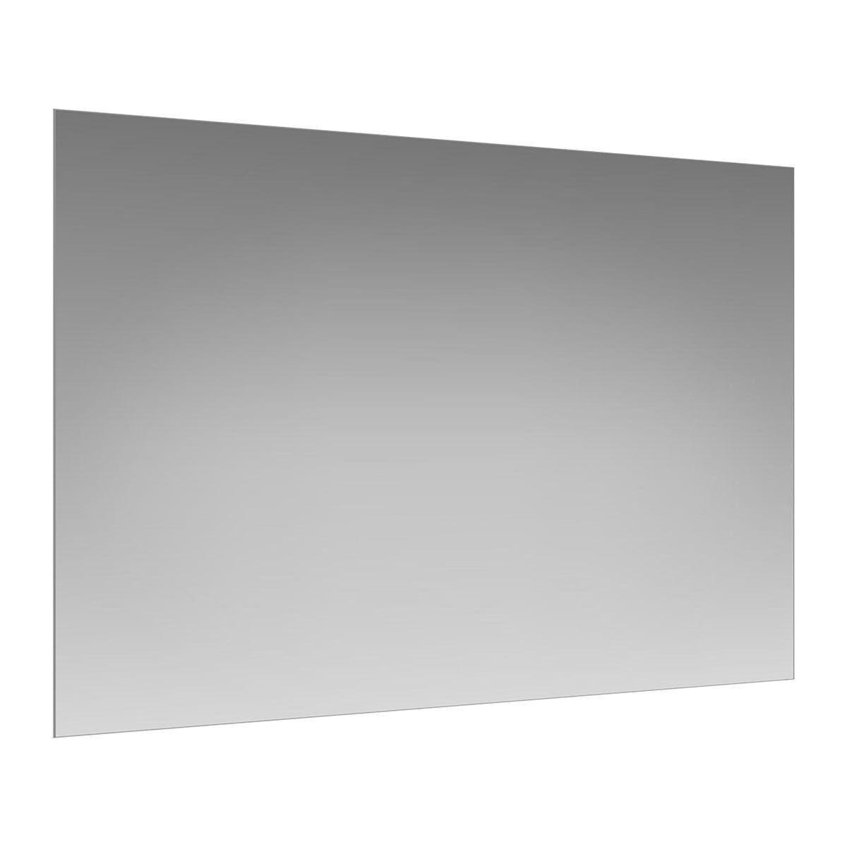 Specchio Interior 100x70 Cm Reversibile Antinfortunistico Filo Lucido Lampada Non Inclusa