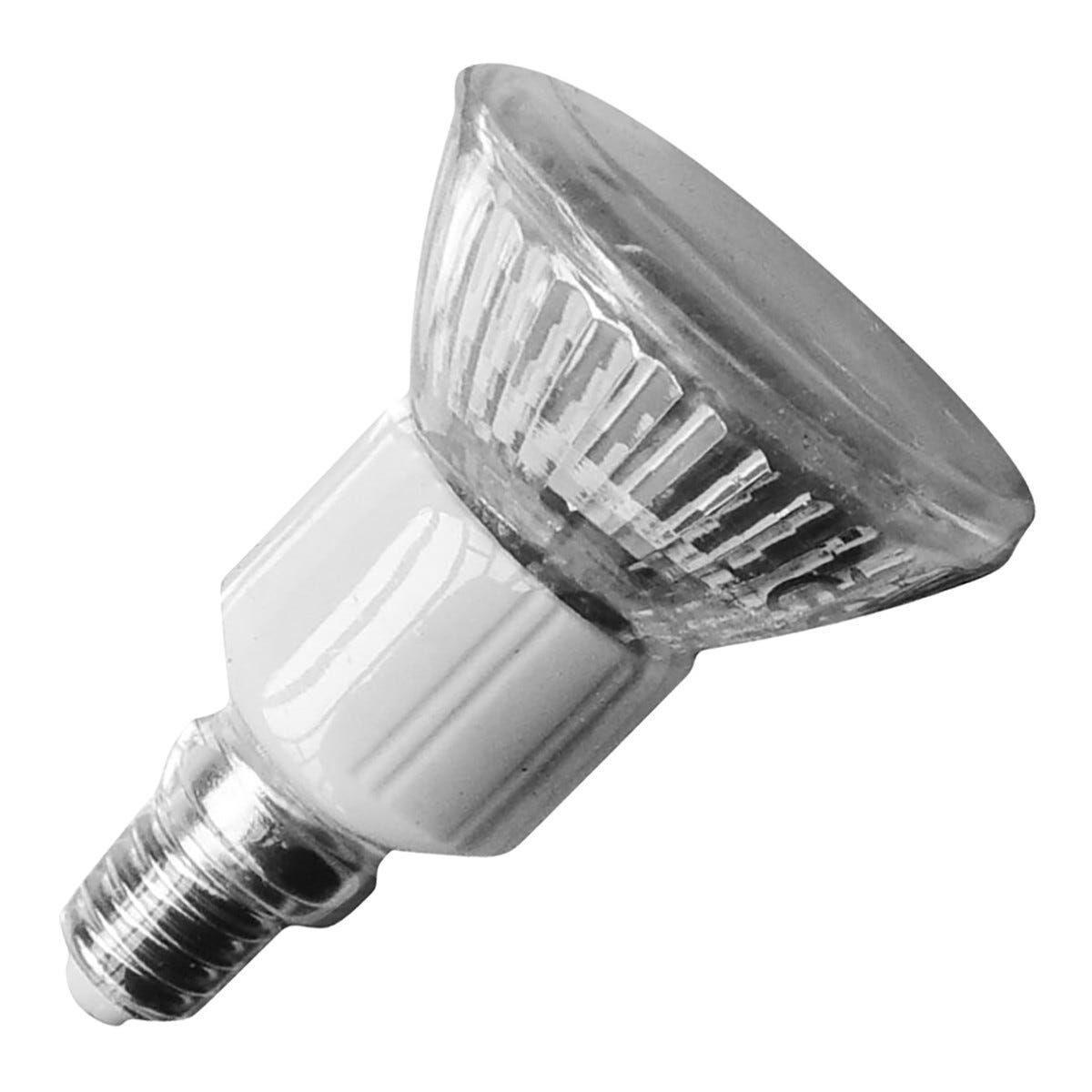 lampadina vivida led spot e14 2w=11w 85 lumen 4200k luce bianca dimensioni Ø 50x73 mm