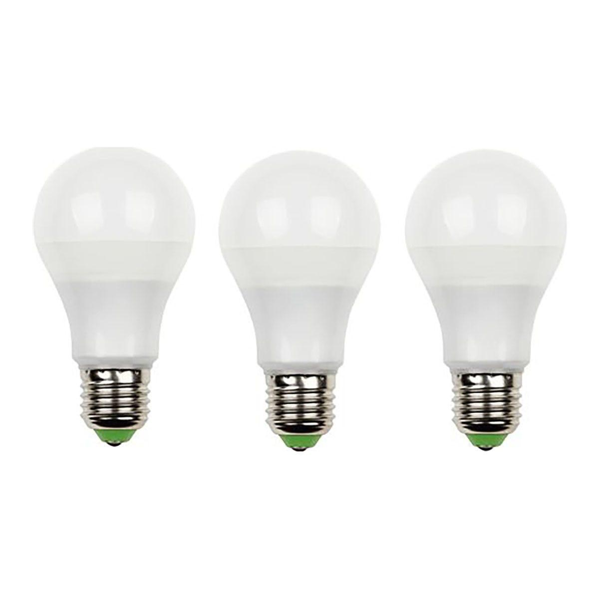 parko 3 lampadine  led goccia 11w e27 1050 lumen 6500k luce fredda
