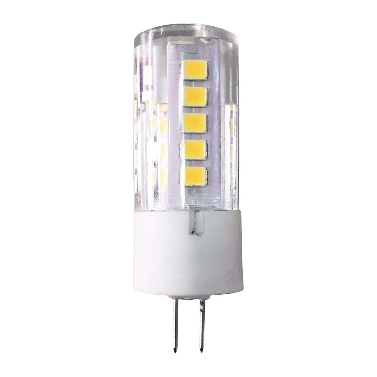 parko 2 lampadine  led mr11 g4 3w=25w 250 lumen 2700k luce calda Ø 16x46 mm