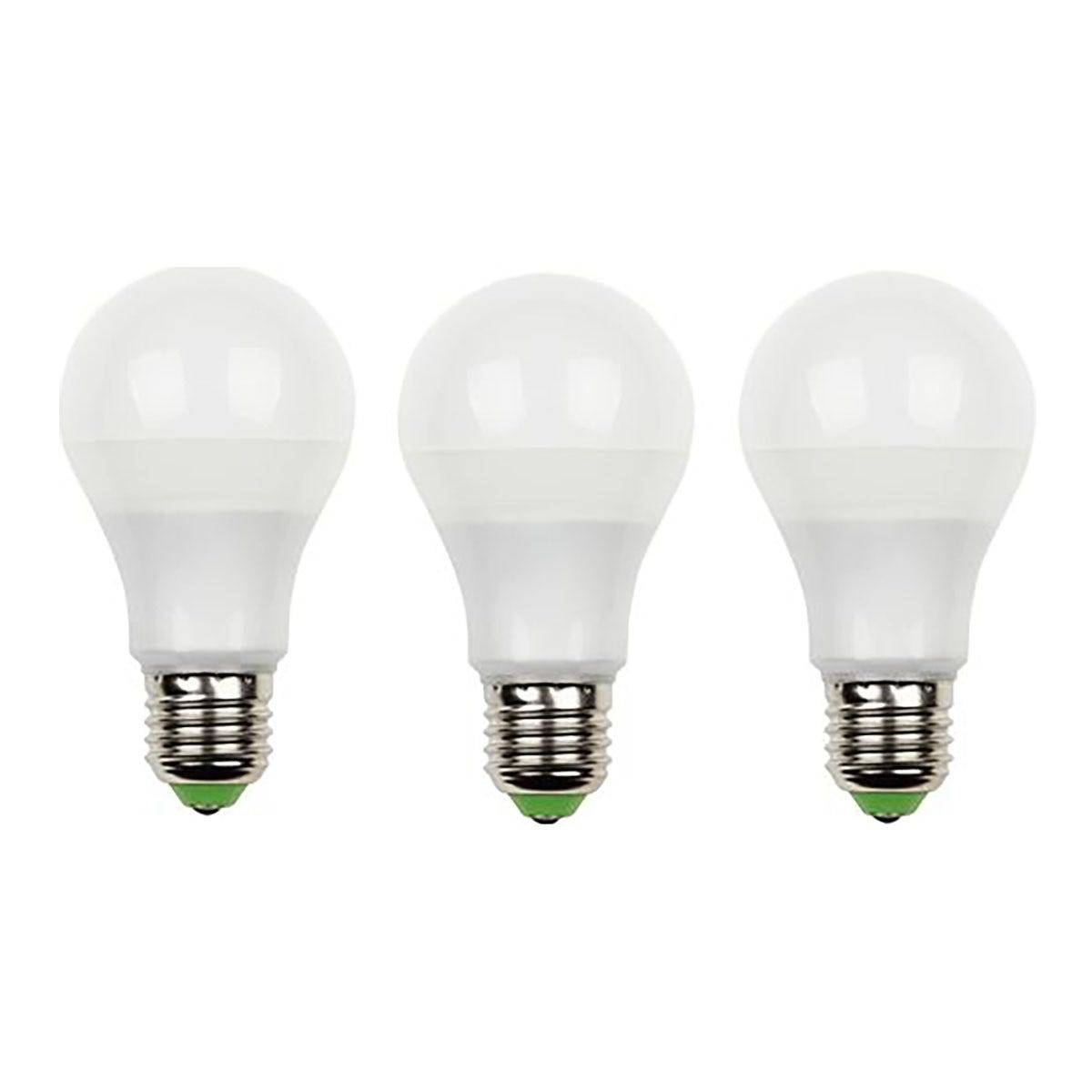 parko 3 lampadine  led goccia 11w e27 1050 lumen 3000k luce calda