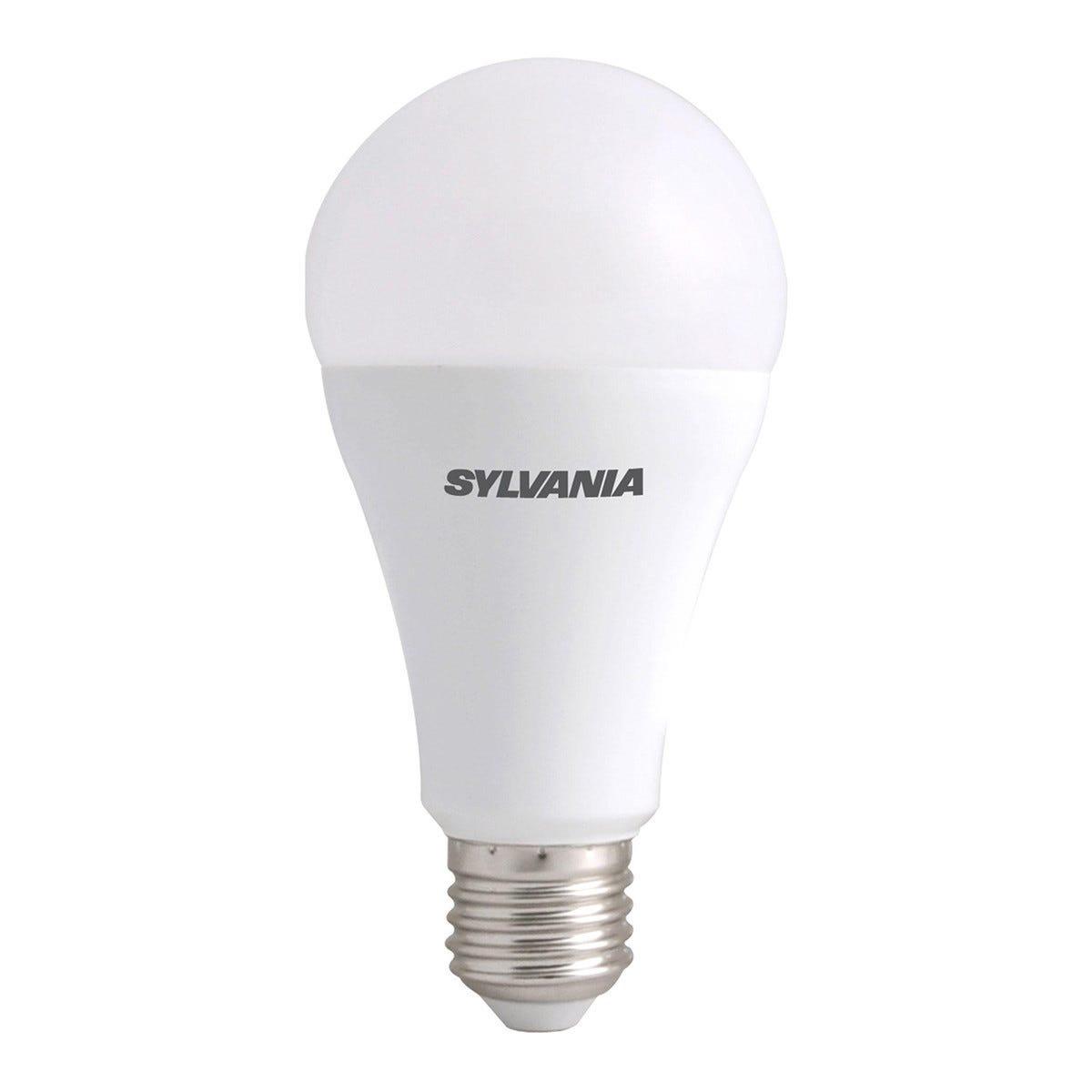 feilo_sylvania lampadina sylvania led goccia e27 11w=75 1060 lumen 2700k luce calda Ø67x136 mm dimmerabile