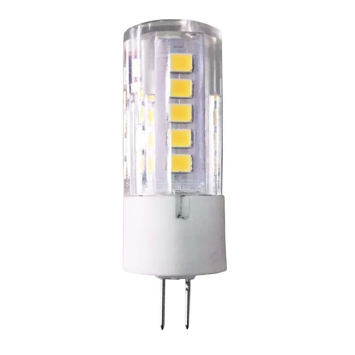 parko 2 lampadine  led mr11 g4 3w=25w 300 lumen 4000k luce bianca Ø 16x46 mm