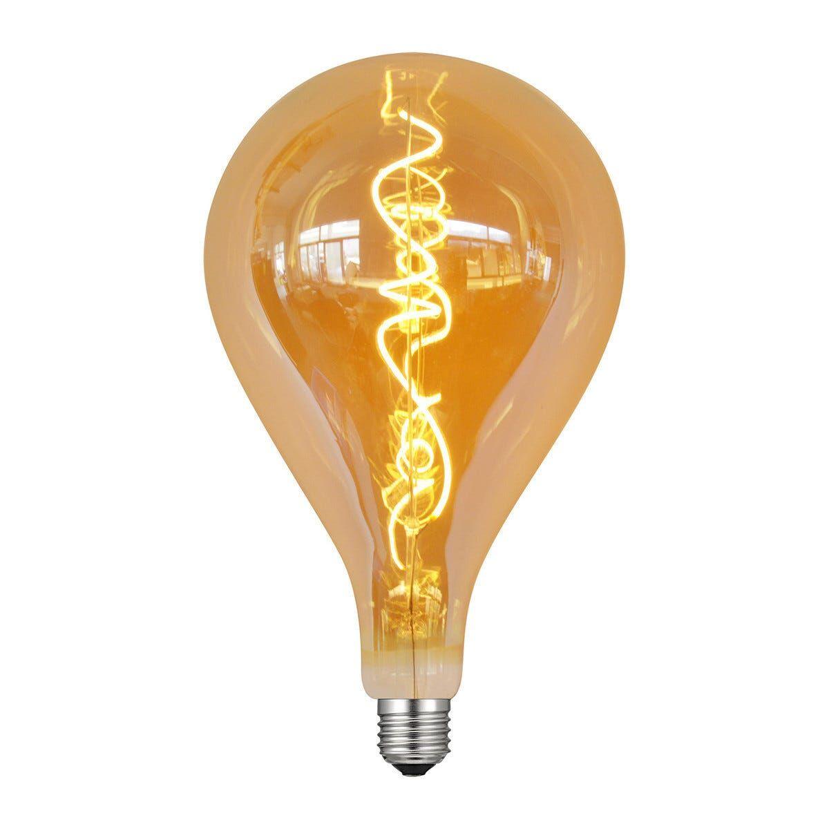 vivida international lampadina vivida led vintage decanter e27 5w=26w 270 lumen 2700k luce calda Ø180x240mm