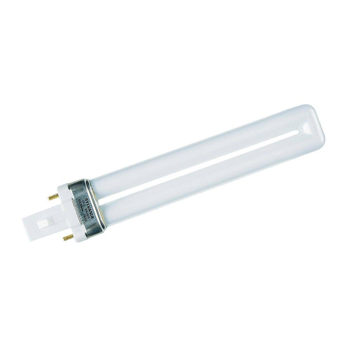 feilo_sylvania lampadina sylvania fluorescente 1 tubo lynx-s g23 11w 2 pin 900 lumen 4000k luce bianca