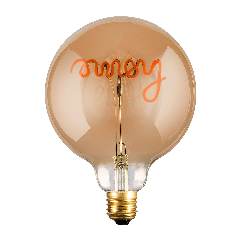 Lampadina Led Vintage Home E27 4w Dimmerabile 200 Lumen 2200k Luce Calda Ambrata