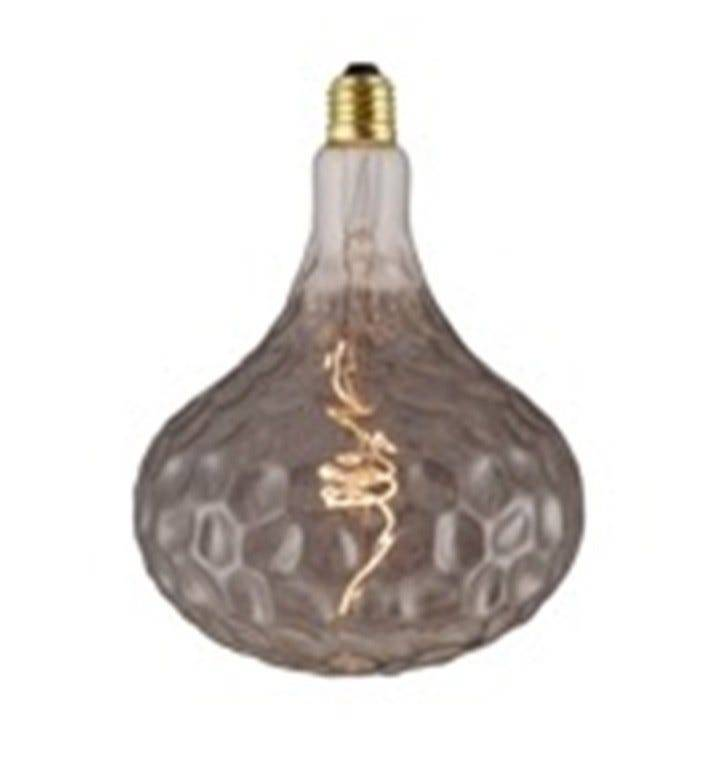 Lampadina Led Vintage Pineapple E27 4w 80 Lumen 2200k Luce Calda Dimmerabile Fume'