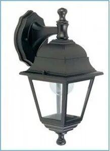 Applique Discendente Per Esterno I-Luce Serie Quadrata Colore Nero E27 Max 60w (Esclusa) Ip43