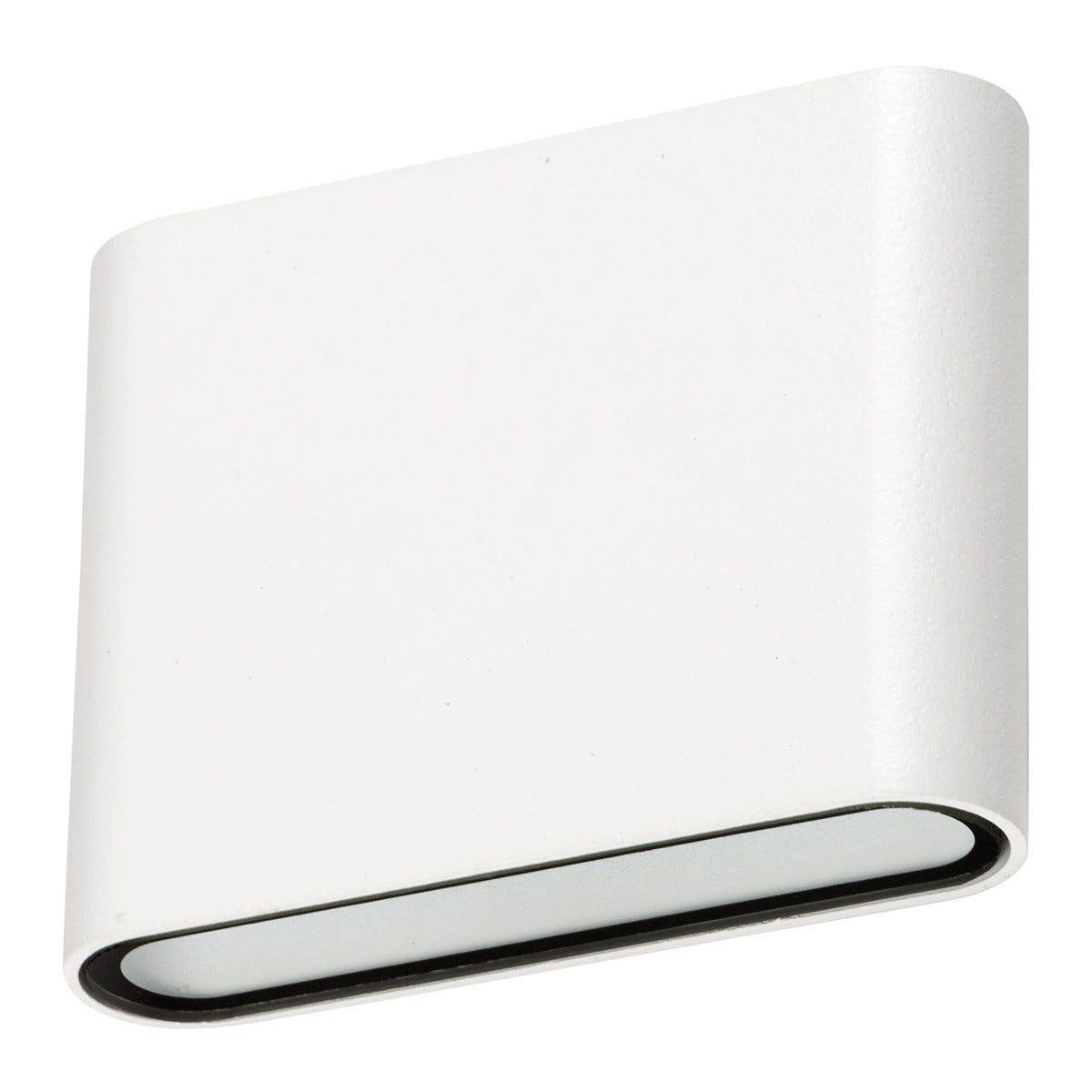 VIVIDA Lampada Esterno Slim Tonda Piccola Led 6w In Alluminio Bianca