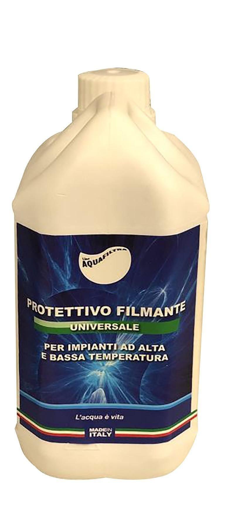 acquafiltra protettivo filmante  alta/bassa temperatura con antialghe dosaggio 1% - 1 l