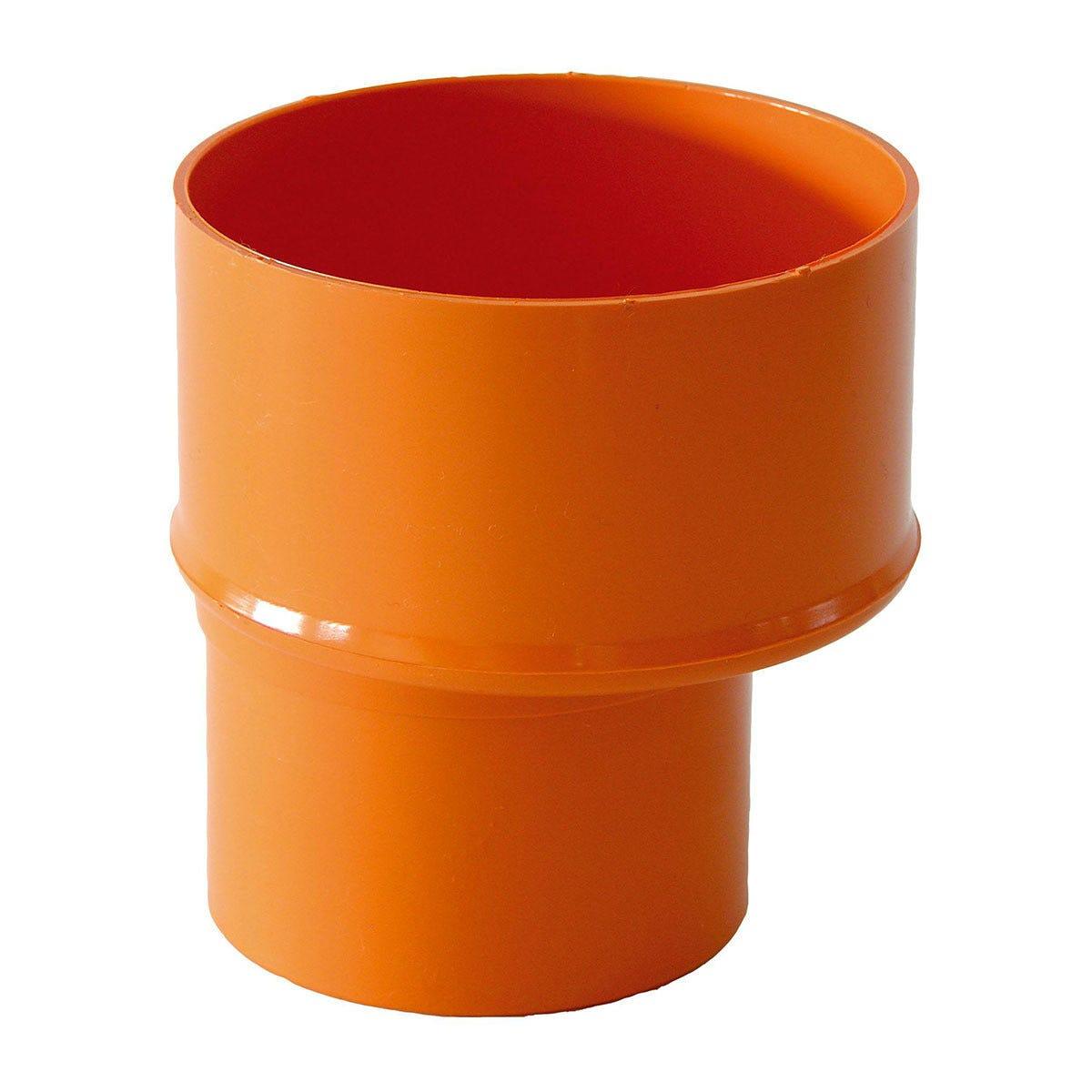 riduzione Ø 125x100 mm pvc arancio
