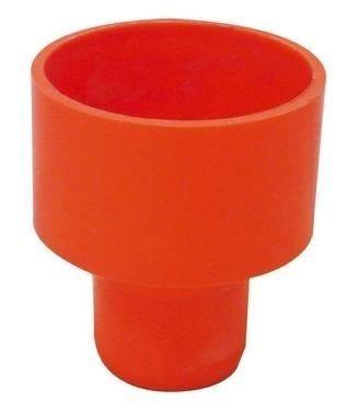 riduzione Ø 140x125 mm pvc arancio