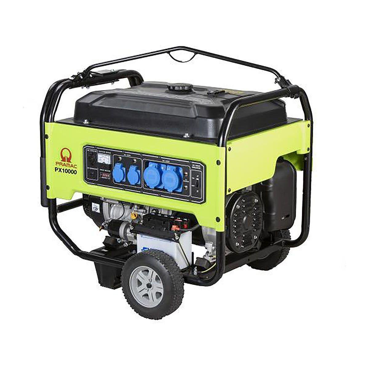 PRAMAC Generatore 9300 W  Px10000 Potenza Continua 8500 W 4 Tempi Benzina