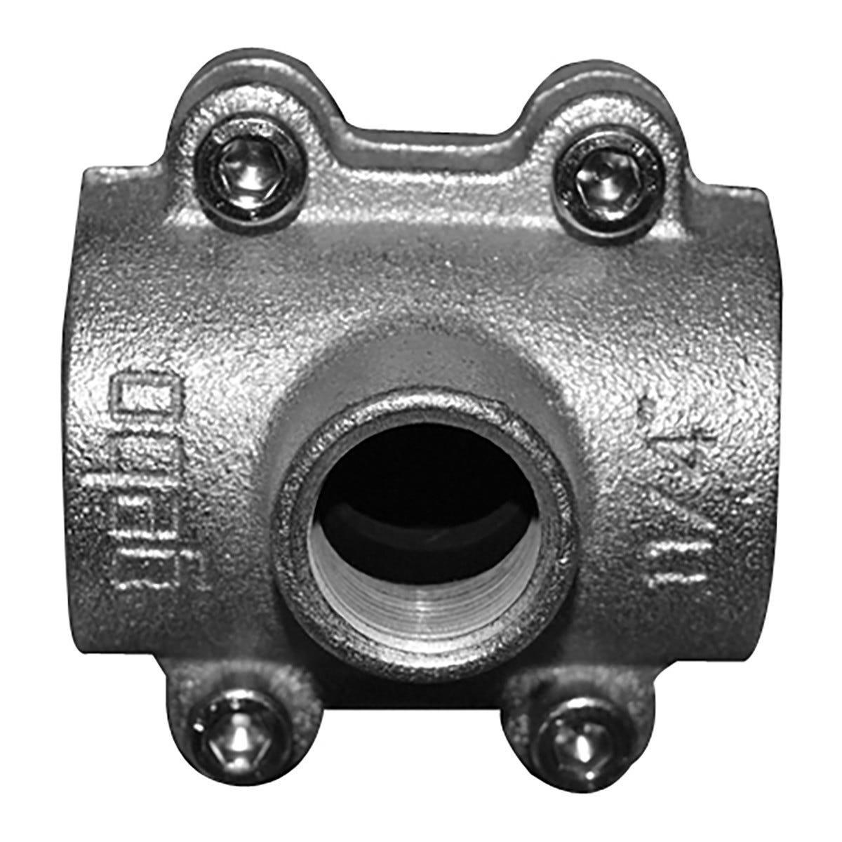 EE Presa A Staffa Tubo Ferro 1''1/4 X 3/4''