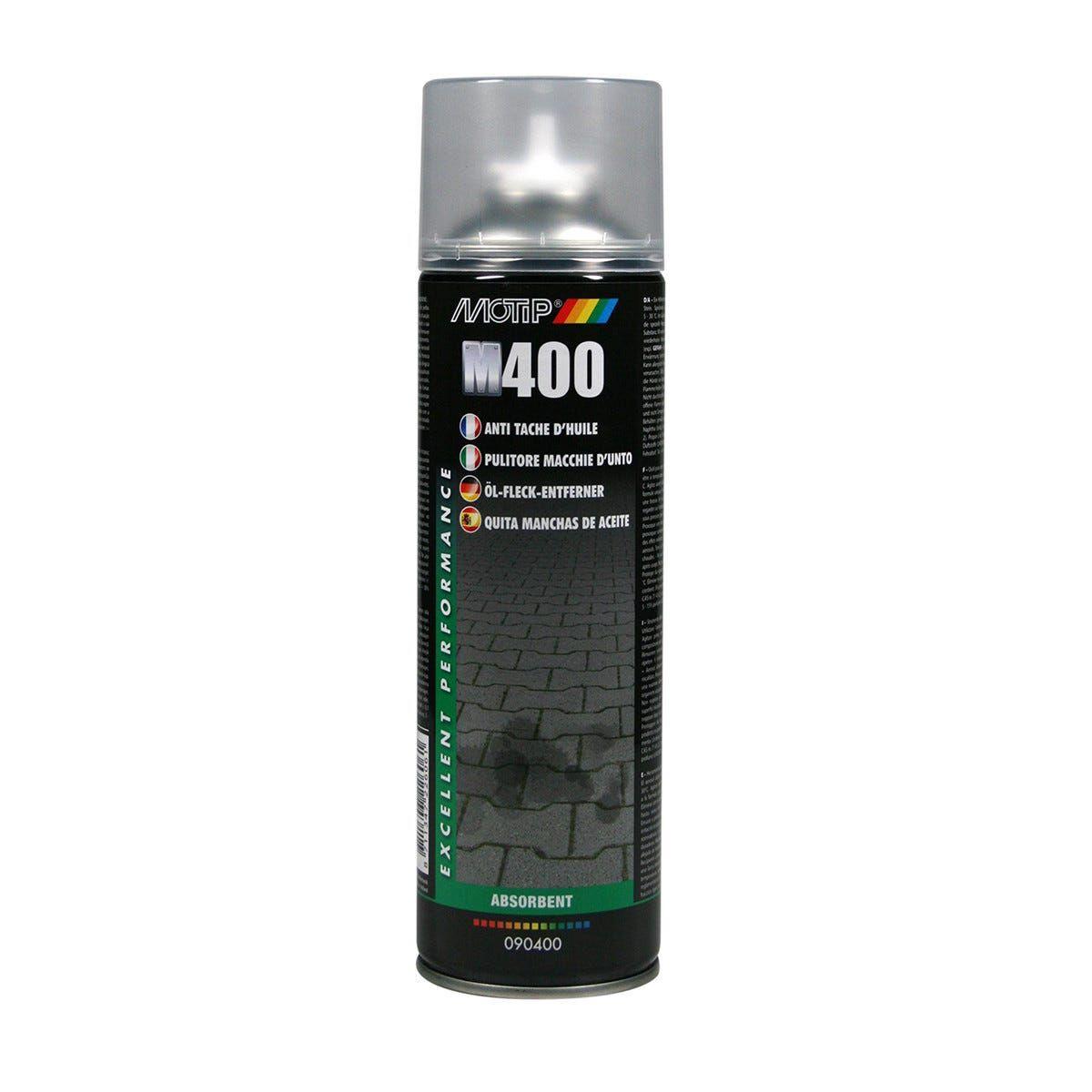 MOTIP Pulitore Macchie D'Unto Spray 500 Ml Bianco Trasparente Cemento Minerali Porfido