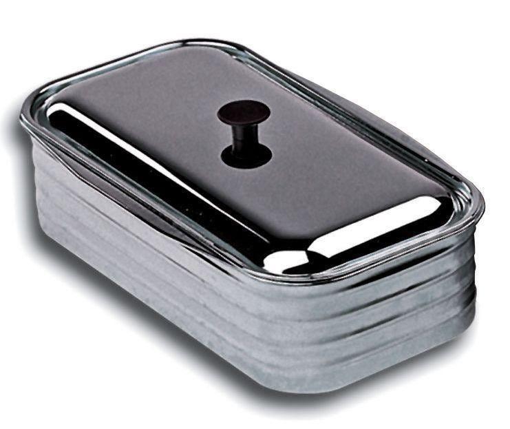 Kit Vasca + Mestolo 4,5 Inox Per Cucine A Legna