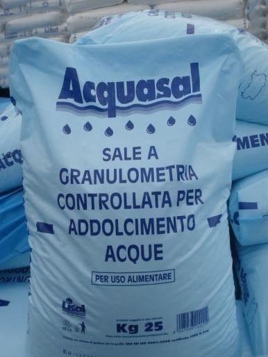 Sale Marino Acquasal Per Addolcitori Kg 25