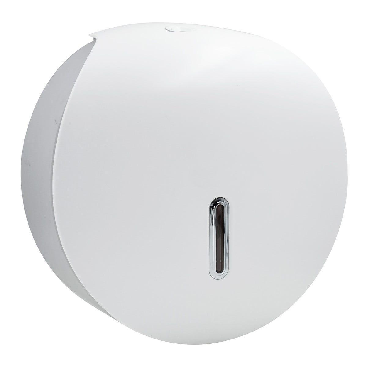 Dispenser Di Carta Igienica Fissaggio A Muro Colore Bianco E Grigio