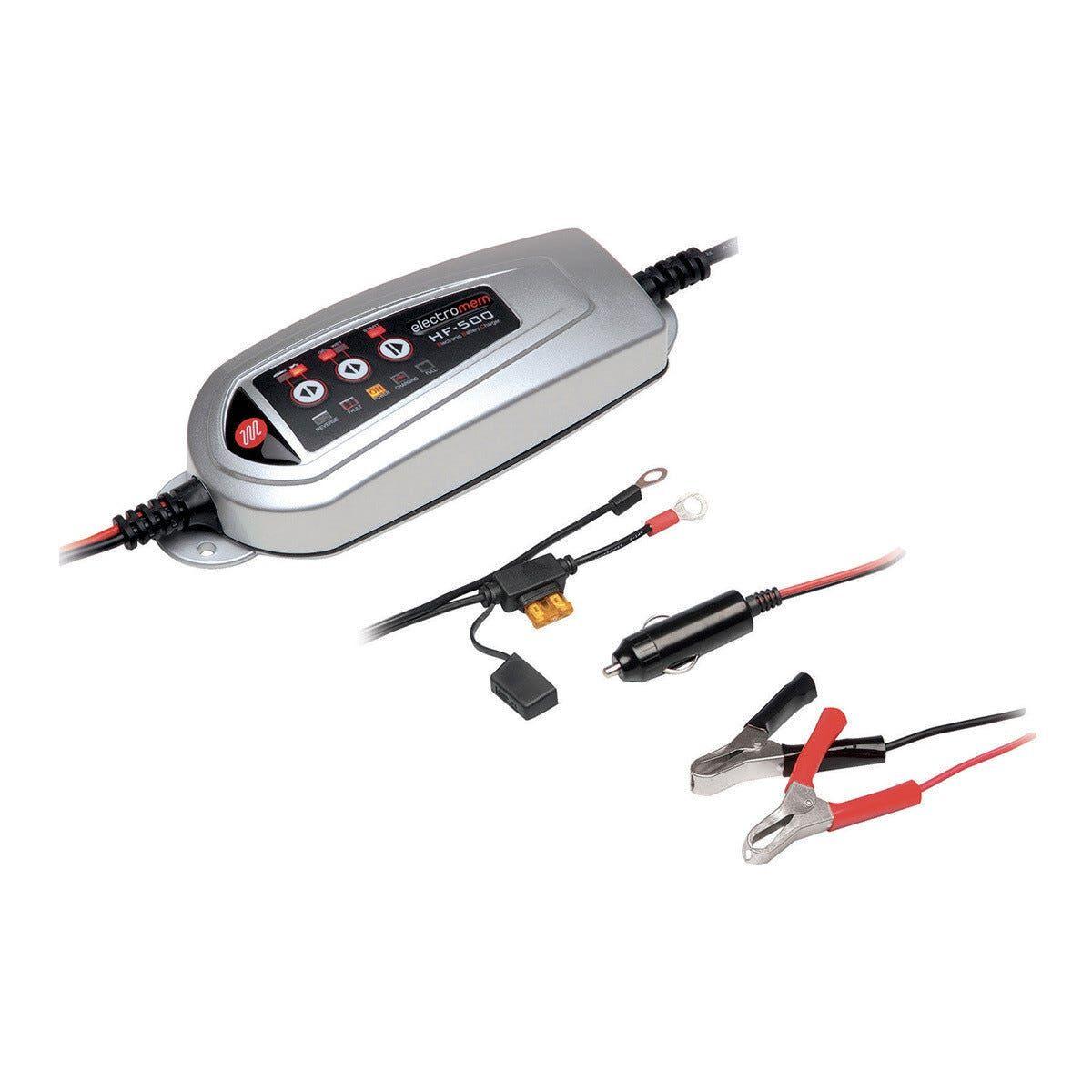 caricabatterie e mantenitore di carica tensione 12 v per auto corrente carica 3,5 a o 1 a