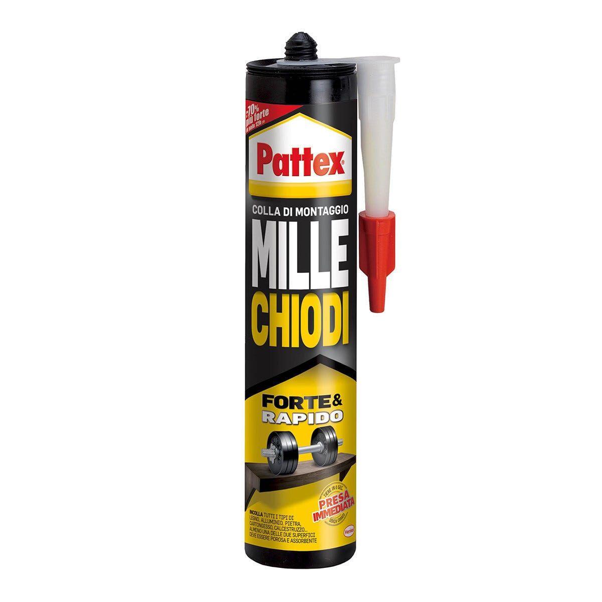 PATTEX Millechiodi  400 G Colla Di Montaggio Multi Materiali Bianco