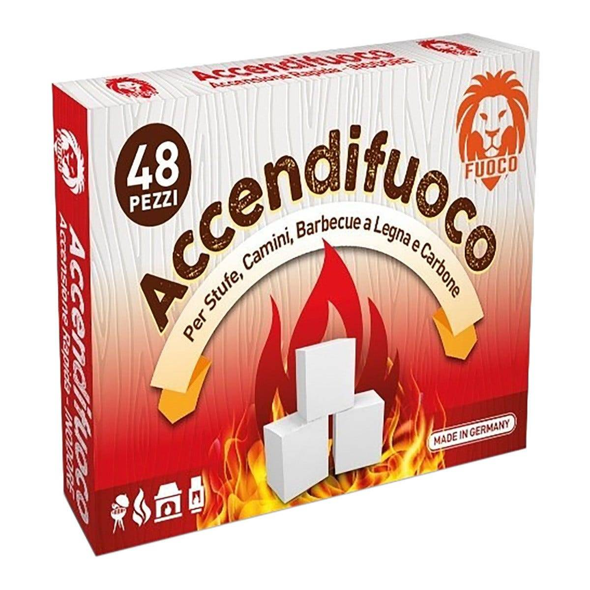 Accendifuoco In Cubetti 48 Pezzi