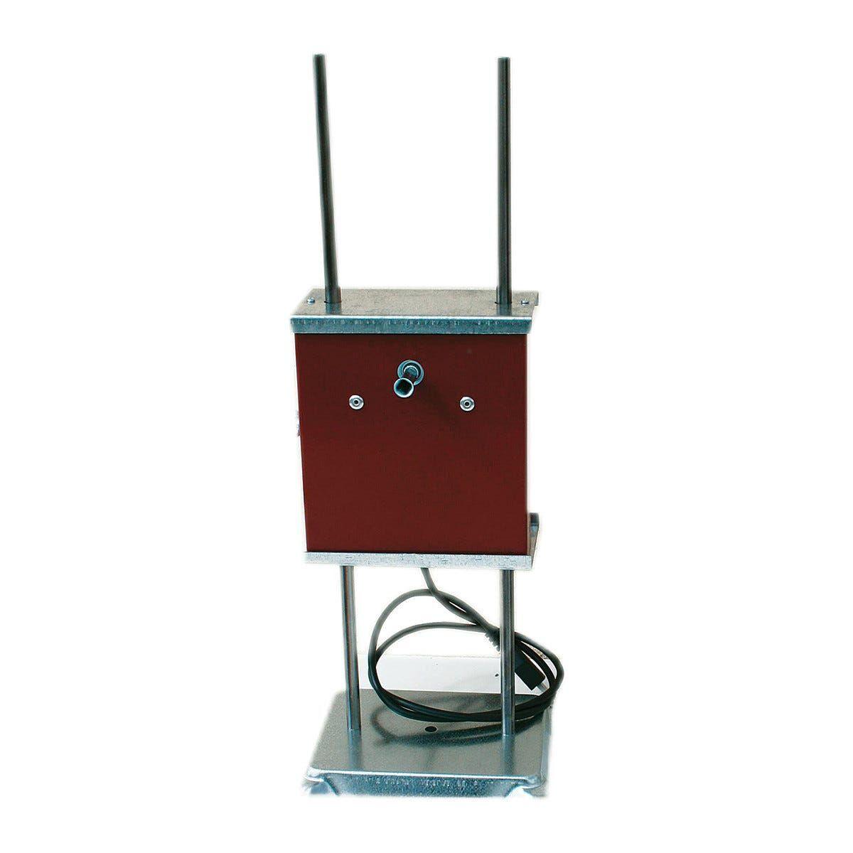 girarrosto con spiedi a batteria 1130x580x450 mm