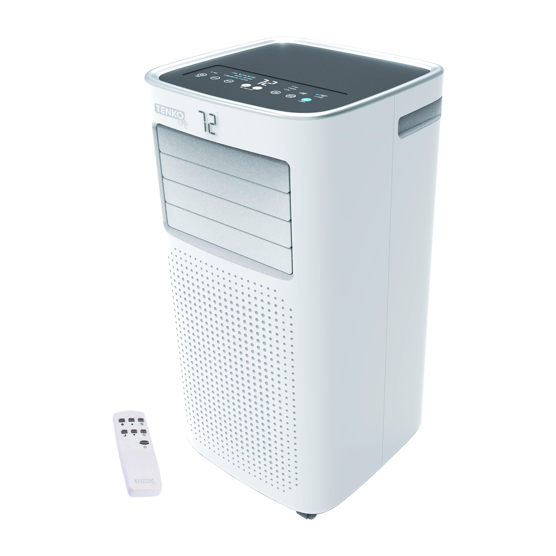 condizionatore portatile wi-fi tenko 9000 btu pompa di calore seer 2,61 scop 2,3 r290