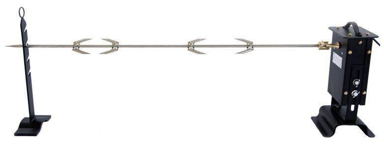 girarrosto elettrico 1 spiedo 100 cm giunto cardanico portata 10 kg per sardegna