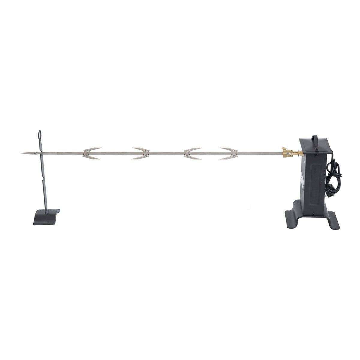 girarrosto elettrico 1 spiedo 100 cm giunto cardanico portata 10 kg