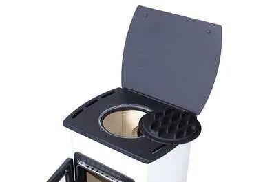CASATELLI Stufa A Legna  Michele 5 Kw Bianco
