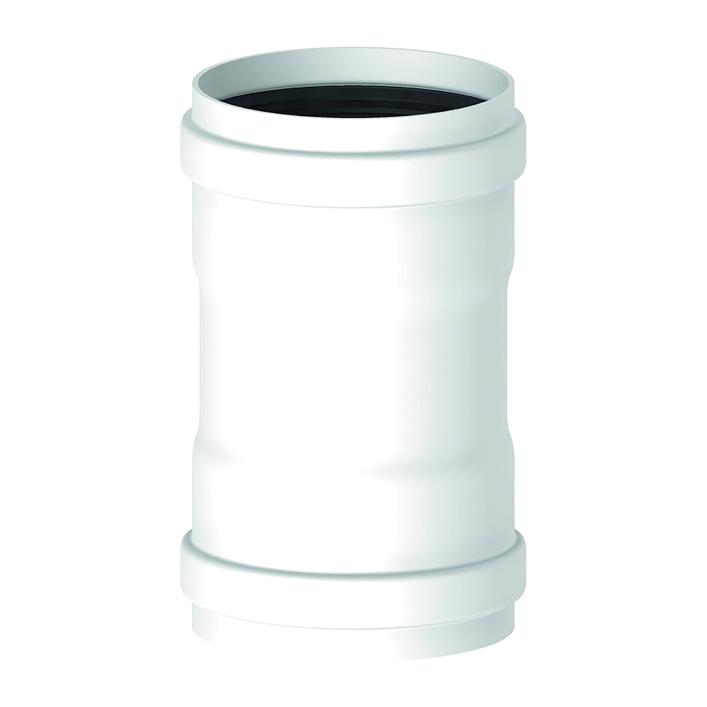 STABILE Manicotto  Tubo Fumi Caldaia Ff Ø 80 Mm In Alluminio Bianco