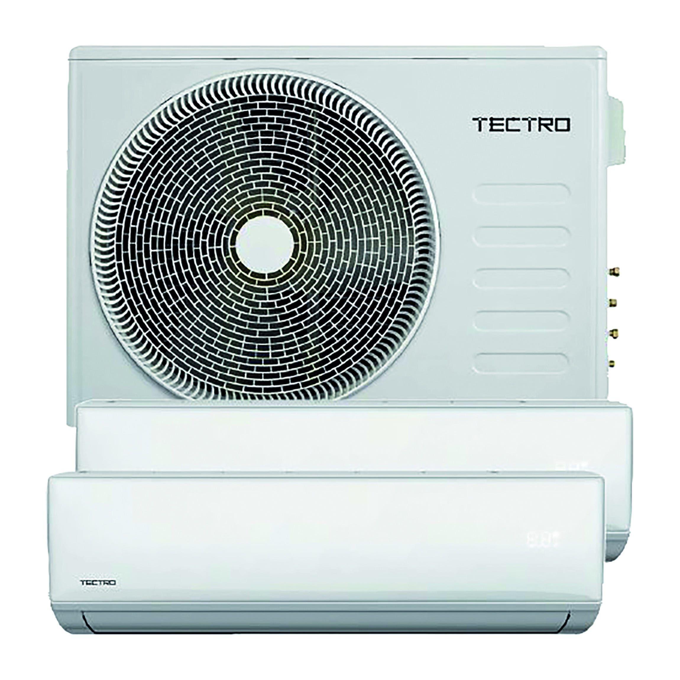 Condizionatore Inverter Tectro Tsm9 Dual 9000+12000 Btu Seer 6,2 Scop 4