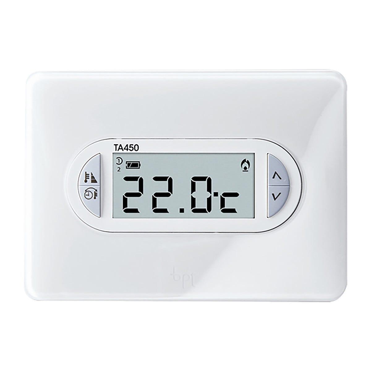Termostato Bpt Ta450 Digitale Da Parete Colore Bianco