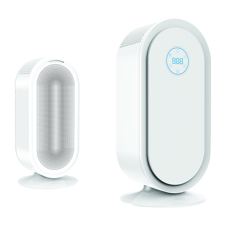 purificatore aria parko 50w con timer e sensore polvere 3 velocita' bianco