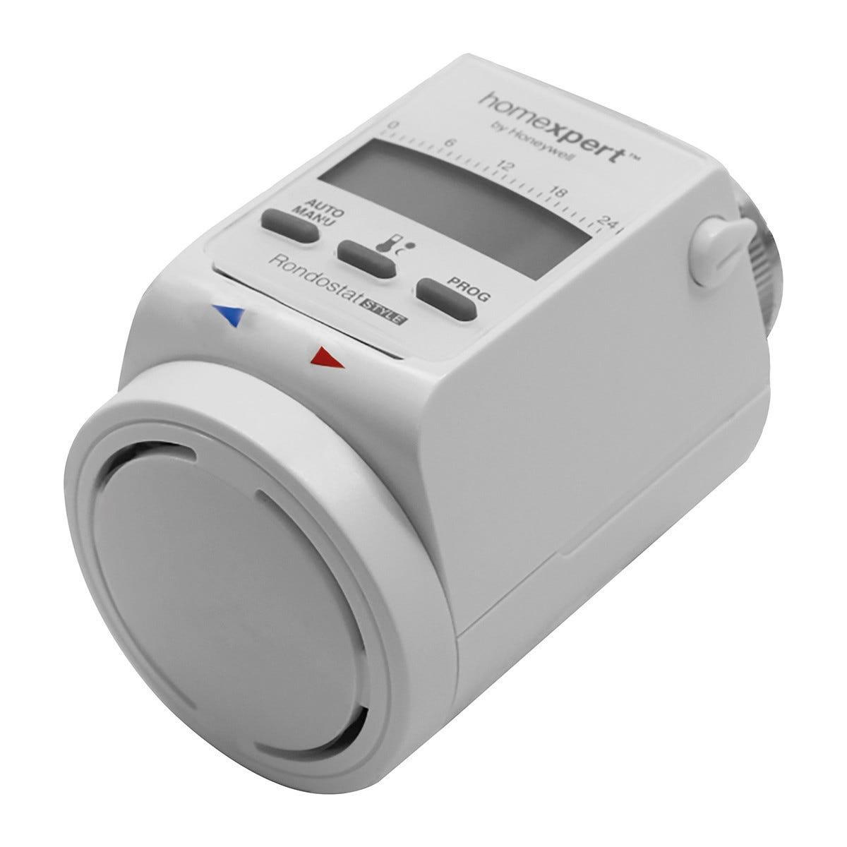 honeywell testa termostatica  hr20-se m30x1,5 con adattatori caleffi e giacomni