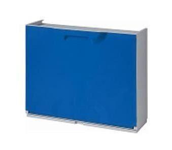 ART Scarpiera  Modulare Resina 41x51x17,3 Cm Blu Per 2 Paia Di Scarpe