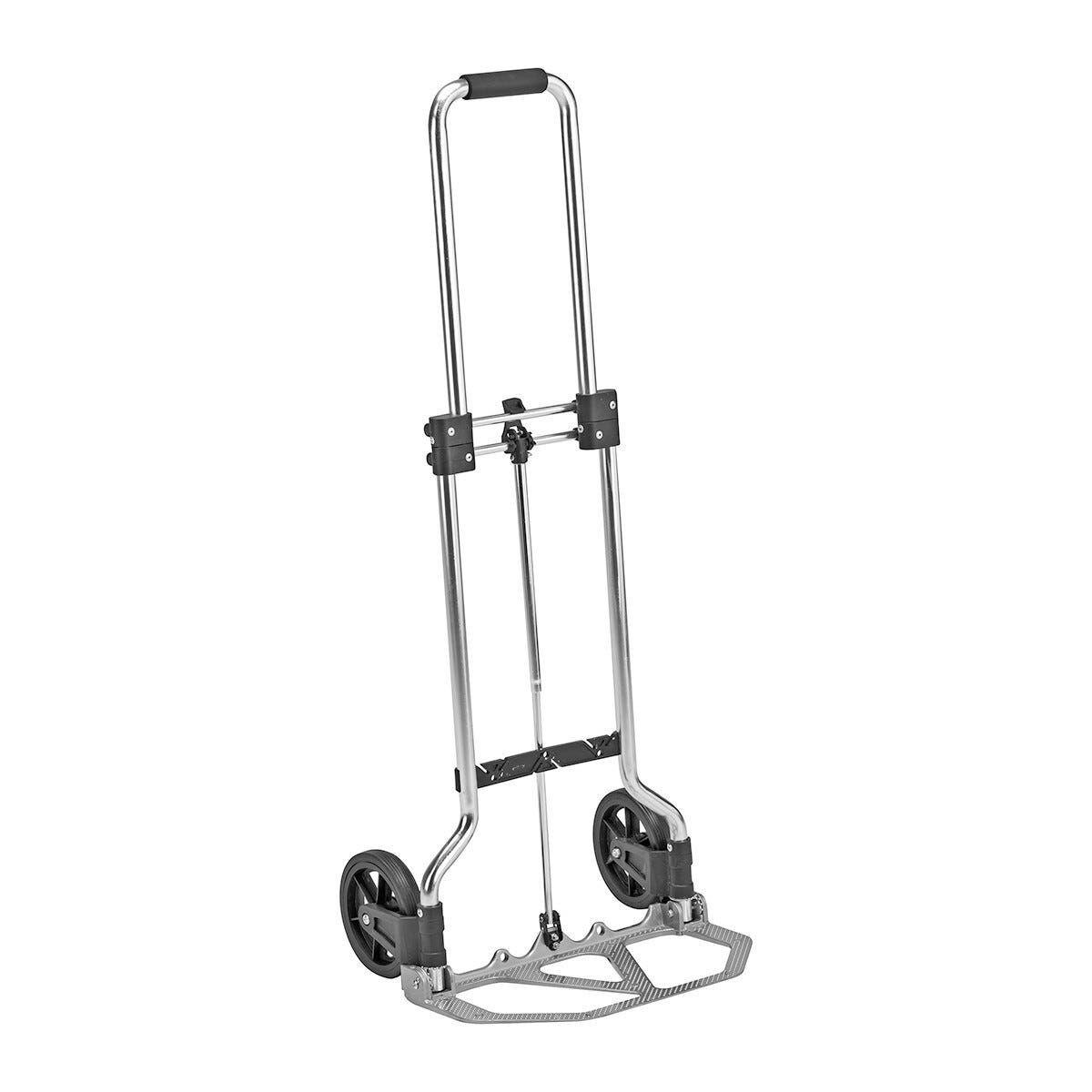 Carrello Pieghevole In Alluminio Portata 45 Kg 96x38x39 Cm