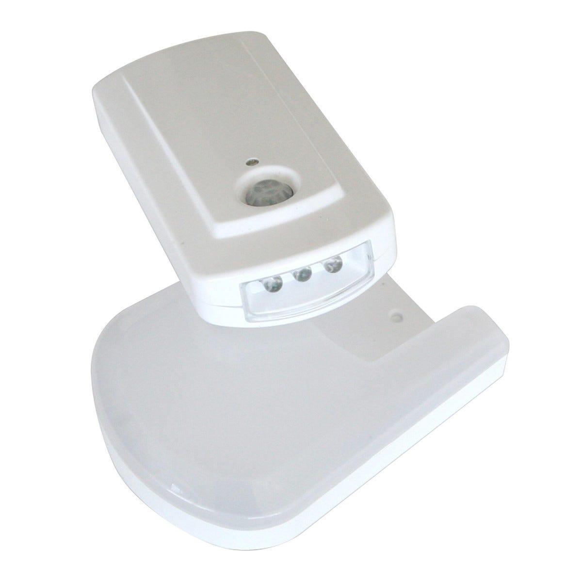 torcia led rexer multifunzione con base e sensore di movimento dimensioni 15,3x7,4x2,8 cm