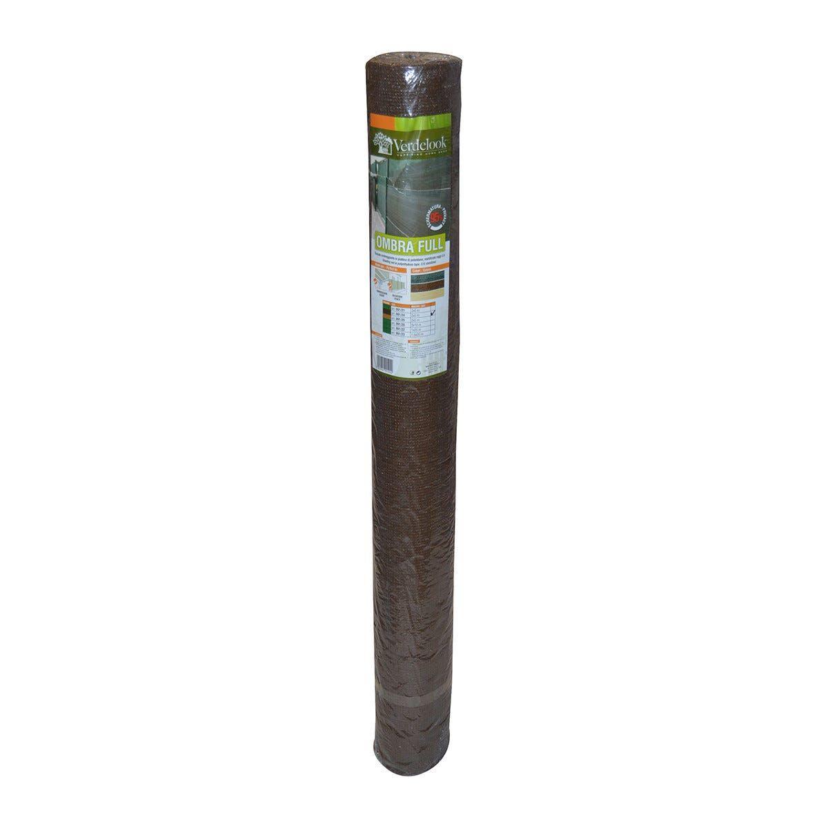 Tessuto Ombra 95% Marrone 200x500 Cm