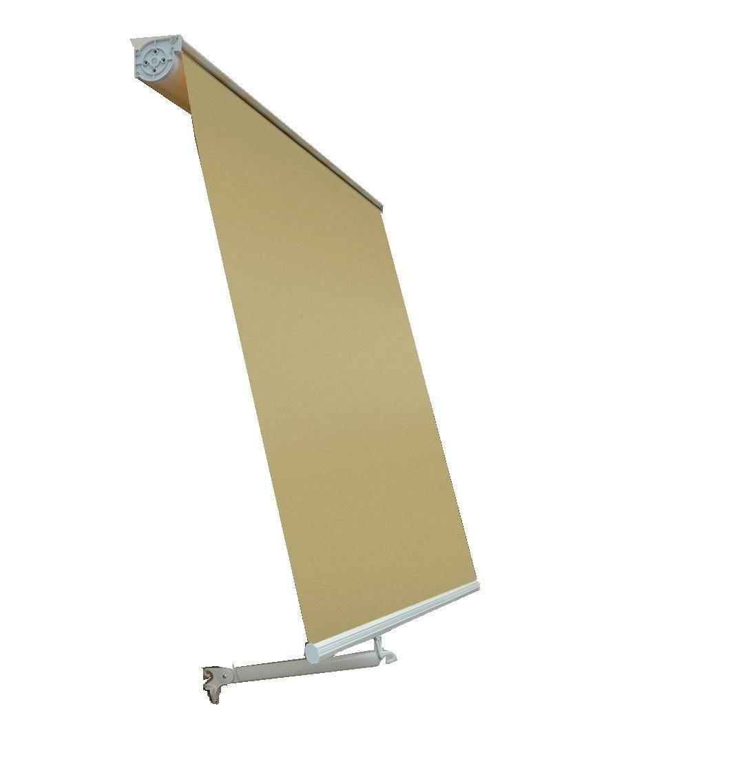 Tenda Da Sole A Caduta Cassonata Beige 80x250 Cm (Lxh)