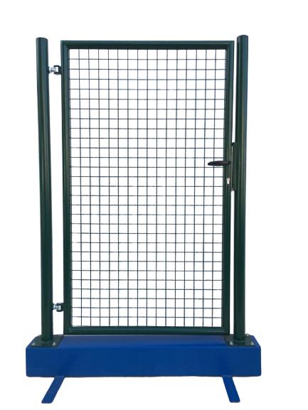 Cancello Pedonale Verde H100x150 Cm Fabbricazione Italiana