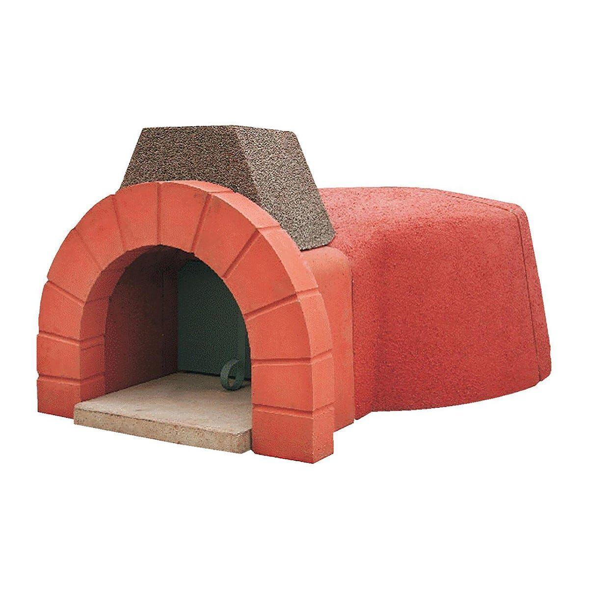 Forno Pizza Posillipo Ø 100 Cm Per 4 Pizze 152x145 Cm Altezza 56 Cm