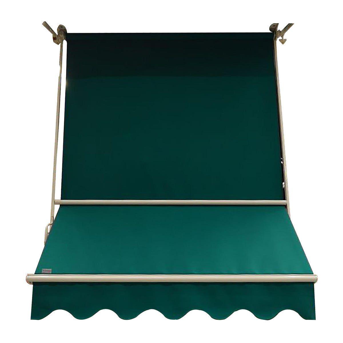 Tenda Da Sole A Caduta Genova Verde Tinta Unita  200x250 Cm (Lxh)