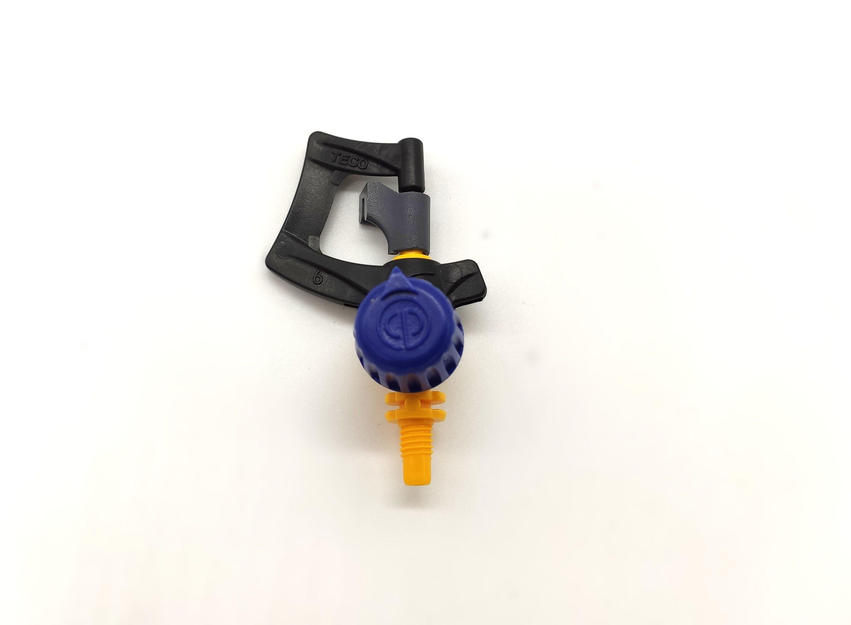 10 Microirrigatori 360° Irritec Regolabili Getto Rotante 0-77 L/h