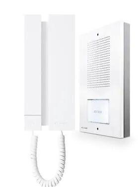 comelit kit citofonico monofamiliare  audio5 a 5 fili espandibile da parete o incasso
