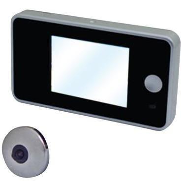 proxe spioncino digitale compatto  silver pannello lcd 2,8'' tft telecamera 0,3 megapixel