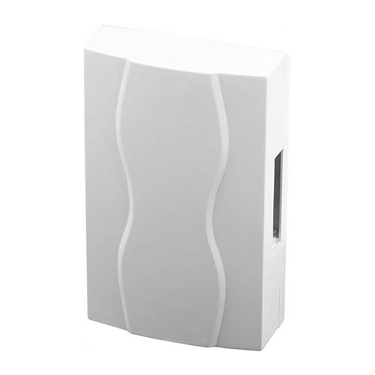 SCS_SENTINEL Campanello Filare 12v Mecabell 3248 Da Parete Colore Bianco