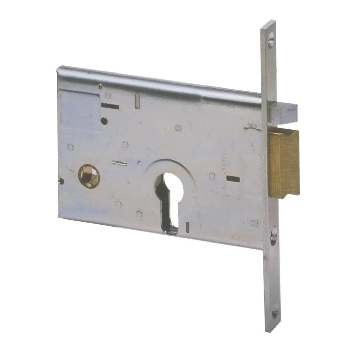 Serratura Elettrica Cisa Ad Infilare Cilindro Sagomato E60 Mm Dx Per Fasce In Alluminio