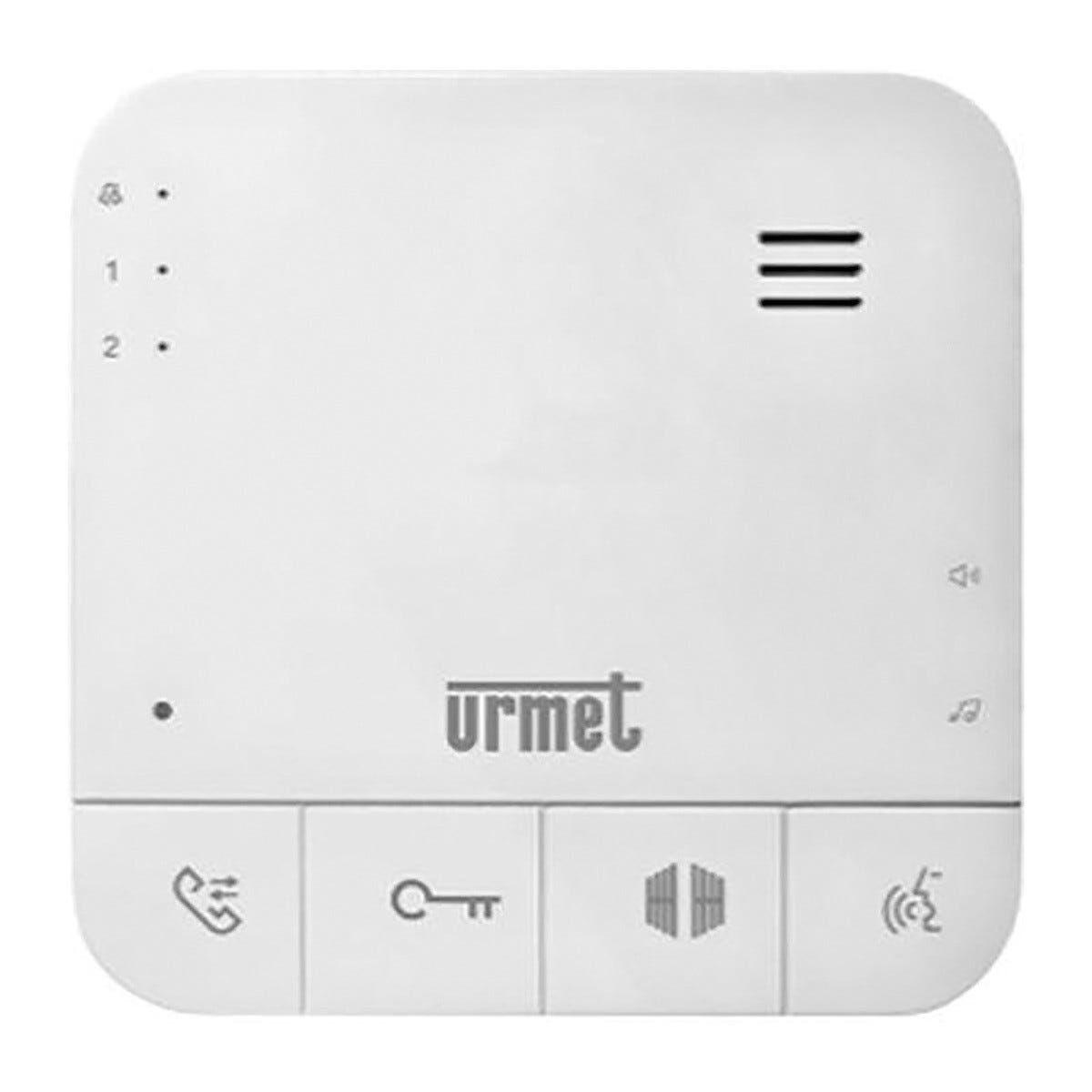 URMET Citofono  Soft Touch Viva-Voce Intercomunicante Per Kit 1726/11 E 1726/12