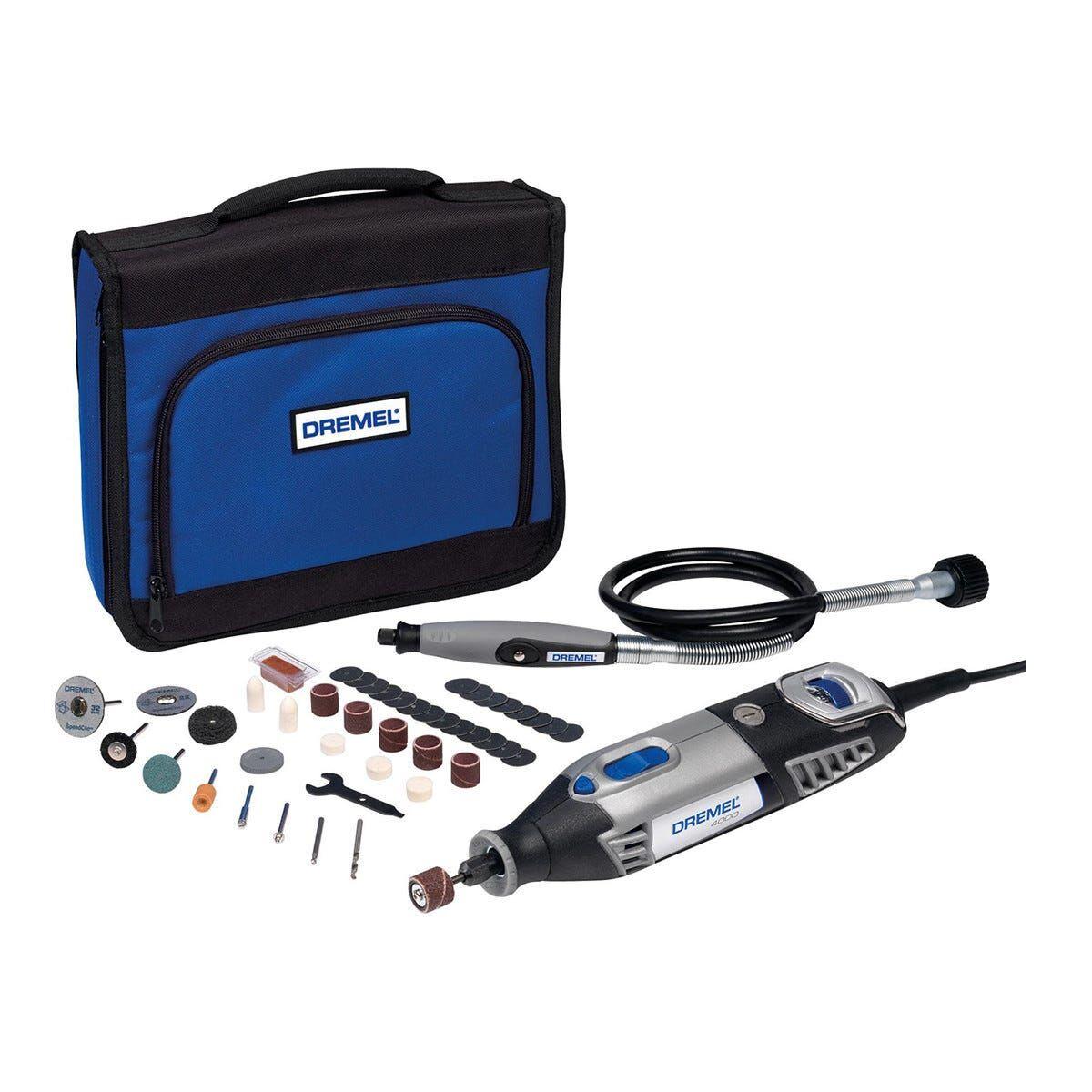 Dremel Miniutensile 175 W Bosch 4000jc 5000-35000 Giri/min Con 45 Accessori